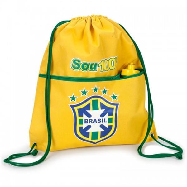 5734dd9084 Mochila Saco Personalizada com Bolso Frontal MS-37